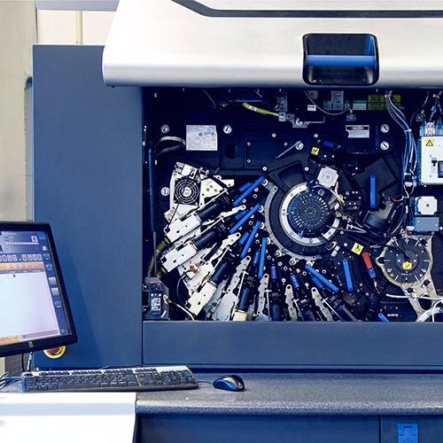 Printerverket på HP Indigo WS6000