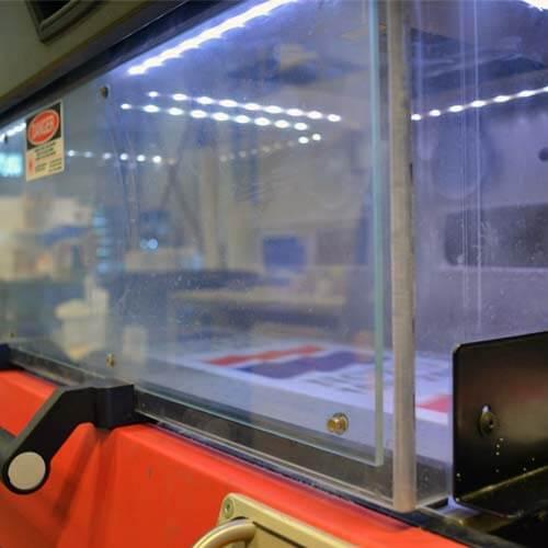 Laserstansen på EFI, Ellco Etikett